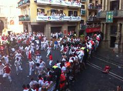IMG_1300 (Destino Navarra) Tags: pamplona ayuntamiento navarra sanfermin encierro balcón