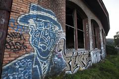 gentleman (eb78) Tags: sf sanfrancisco california ca graffiti bayarea bayshore roundhouse