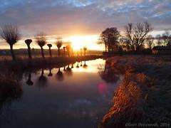 Sonnenaufgang Ziegenhain, am Flugplatz (Oliver Deisenroth) Tags: sunrise landscape sunny landschaft sonnenaufgang olympusstylus1