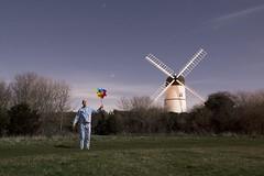Windy Sleepwalk (Alex Bamford) Tags: windmill night brighton wind pajamas pyjamas sleepwalking windmil patcham westdene alexbamford wwwalexbamfordcom alexbamfordcom