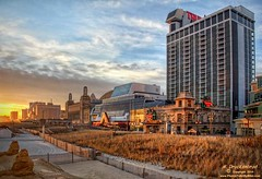 Trump Tower Atlantic City, New Jersey (PhotosToArtByMike) Tags: sunset gambling newjersey nj casino resort gaming atlanticcity casinos trumpplaza acboardwalk gamingcasino