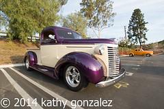 whittier_church2-5199 (tweaked.pixels) Tags: chevrolet truck whittier purpleandbeige pixelfixel tweakedpixels whittierareaclassiccarshow ©2014kathygonzalez whittiercommunitychurch