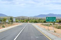 20140313-DSC_0822 (jbdodane) Tags: africa angola bicycle day495 namibeprovince road sign freewheelycom cycling vlo cycletouring cyclotourisme velo jbcyclingafrica