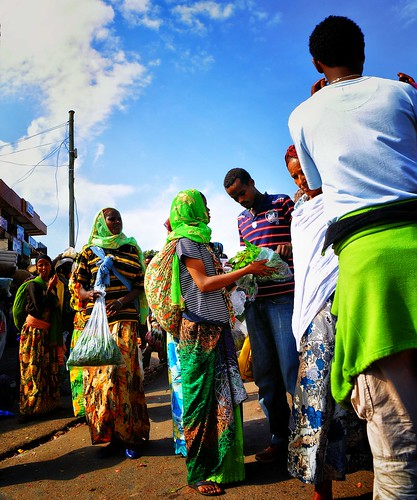 Women Selling Khat, Harar