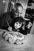 Family. (FrancescoMelchiorre) Tags: family portrait blackandwhite bw white black canon dad child sister granfather