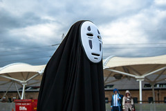 DSC_0514 (Gavin Clinton) Tags: london costume comic expo cosplay may away convention noface comiccon con mcm 2014 spirited kaonashi