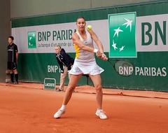 Flavia Pennetta, Paris 2015 (mraposio) Tags: paris canon eos tennis l mk2 5d ef f4 wta rolandgarros mkii 70200mm flaviapennetta pennetta
