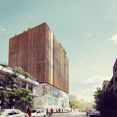 Бизнес-центр Zartosht в Тегеране от Kamvari Architects
