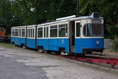 Heimkehr des Tatzelwurm's nach München II (Mr G Spot) Tags: munich münchen tram 102 streetcar tramway p1 mvg trambahn schwertransport rathgeber hsm pwagen fmtm tatzelwurm tieflader strasenbahn wehmingen mvgmuseum freundedesmünchnertrambahnmuseums p1wagen