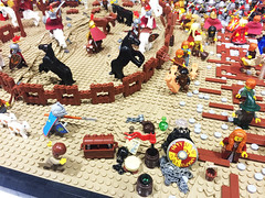VA BrickFair 2015 Castle Lands of Roawia (EDWW day_dae (esteemedhelga)) Tags: castle lego bricks minifigs moc afol minifigures edww brickfair daydae esteemedhelga landsofroawia vabrickfair2015