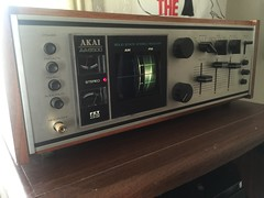 Akai Stereo (jstravelchannel) Tags: old music vintage vinyl retro stereo sound 70s receiver akai akaiaa8500