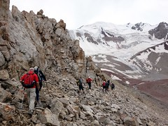 """Traversing a boulder field • <a style=""""font-size:0.8em;"""" href=""""http://www.flickr.com/photos/41849531@N04/20451234305/"""" target=""""_blank"""">View on Flickr</a>"""