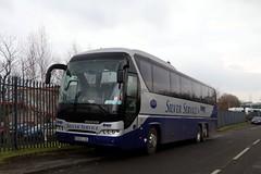 Silvercloud, Coatbridge SS13LSS (busmanscotland) Tags: silvercloud coatbridge ss13lss ss13 lss mcmurray neoplan tourliner n2216shd n2216shd3shd leger travel