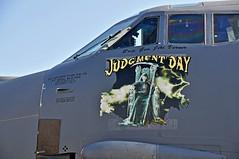 610031 B-52H USAF (murraymcbey) Tags: 610031 b52h usaf noseart judgementday
