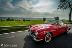 Mercedes 190 SL (Guillaume Tassart) Tags: mercedes 190 sl classic legend car automotive mariage wedding