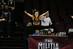 Basketball vs. La Salle (dailycollegian) Tags: umass umassamherst umassathletics umassbasketball mullinscenter mullins basketballvslasalle basketball jessicapicard 22617 lasalle dance team