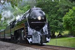 DSC_0230 (Andy961) Tags: markham virginia va railway railroad train norfolkwestern nw classj steam locomotive engine 484 611