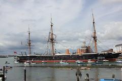 IMG_2136 (Skytint) Tags: hmsvictoria hmswarrior docks portsmouth hampshire england 2012