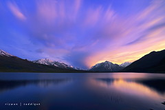 Shandur Lake 3719m. (Mountain Photographer) Tags: sunset cloud mountain mountains peak karakoram peaks himalaya highaltitude gilgit baltistan 8000m 7000m northranarea rizwansaddique shandurlake3719m