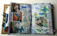 Smashbook pages 1 (Jennibellie) Tags: art book sketch smash artist pages ephemera page scrap artjournal smashbook