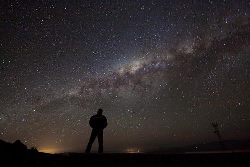 Admiring the Galaxy