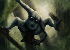 Acephali (ETt_) Tags: nature monster headless funny jungle gore acephali