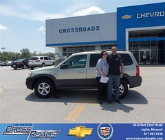Crossroads Chevrolet Cadillac would like to say Congratulations to Brent Shore on the 2005 Mazda Tribute (Crossroads Chevrolet Cadillac) Tags: new chevrolet car sedan truck wagon happy pickup cadillac mo used vehicles chevy missouri bday van minivan suv crossroads luxury coupe dealership caddy joplin shoutouts hatchback dealer customers 4dr 2dr preowned