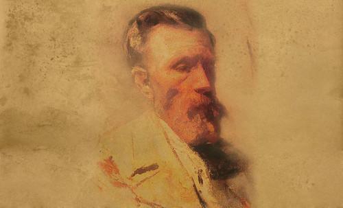 """Mentores, homenaje a Vincent van Gogh de Henri de Toulouse Lautrec (1887), y al padre de Pablo Picasso (1896). • <a style=""""font-size:0.8em;"""" href=""""http://www.flickr.com/photos/30735181@N00/8805098985/"""" target=""""_blank"""">View on Flickr</a>"""