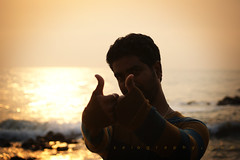 Like! (saiography) Tags: morning sun beach like rise goldenhour vizag visakhapatnam saiography
