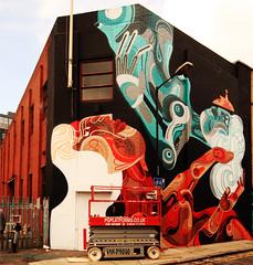 Reka work in progress (takphoto) Tags: street art side east