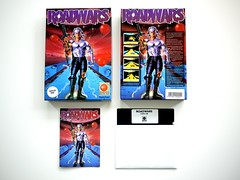 Road Wars, Melbourne House, C64 (zapposh) Tags: ocean game fun wallet retro gaming disk trading commodore imagine instructions covers boxes commie manual disc trade c64 diskette trades commodore64