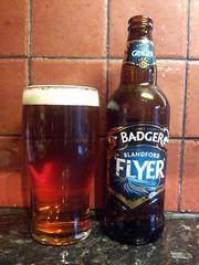 Badger - Blandford Flyer (UKSampler) Tags: beer ale lager flickrandroidapp:filter=none