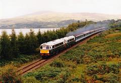 D5301-D5300 at connel (47604) Tags: train scotland passenger connel sulzer type2 26007 26001 kyleline d5300 d5301