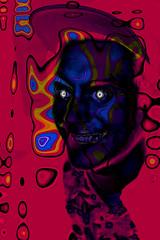 jack sanchez (sharkdaddy23) Tags: portrait face happy crazy manipulation trippy groovy liquid badtrip