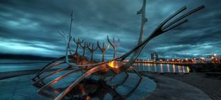Viking Boat, Reykjavik. Iceland.