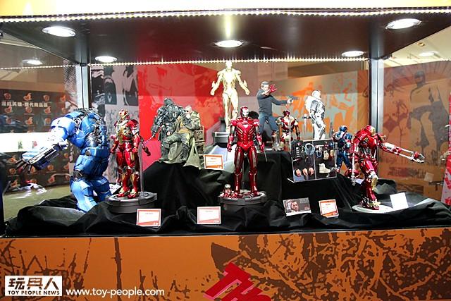 野獸國玩具 2013 Hot Toys 年度展 搶先看!!!