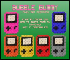 Nintendo (Bubble Gummy pixel art) Tags: nintendo videogames videogame videojuego videojuegos hamabeads perlerbeads bubblegummy bubblegummypixelart