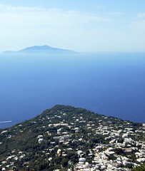 A View from Capri (closer to the m☮☮n) Tags: ocean travel summer italy seascape beautiful island capri nikon view perspective