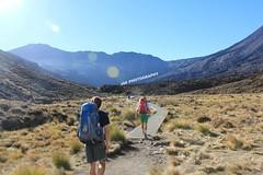 Tramping the Tongariro Crossing. (jfears111) Tags: newzealand trekking walking excercise lordoftherings tongariro tramping mountdoom
