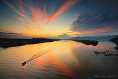 Good Morning Kinabalu (zakies) Tags: morning sunset sunrise jetty mountkinabalu sabah proglass nikond700 sabahsunset sabahpanorama mengkabongsunrise zakiesphotography zakiesphoto goodmorningkinabalu sabahsunrise