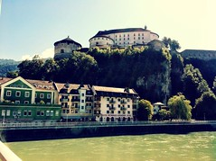Kufstein Fortress and the River Inn (Crystal Summer) Tags: river austria tirol inn crystal culture kaiser fortress wilder kufstein söll crystalsummer