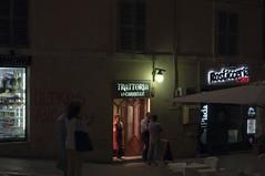 bar e trattoria (Michele d'Ancona) Tags: people italy bar night italia peoples persone piazza notturna ancon notte marche ancona piazzaroma ankon