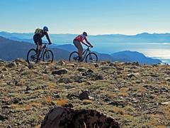 Tahoe Rim Trail Oct 14th Amy's Bday (benjaminfish) Tags: mountain lake bike october nevada tahoe trail biking rim 2013