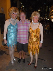 The Horror Sisters (wwilliamm) Tags: drag spain patrick dragqueen benidorm klee horrorsisters 2013 kafeeklee costablanva