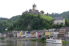 Cochem, Mosel river, Germany (SchoonbrodtB) Tags: cochem mosel moselle germany deutschland allemagne burg chateau castle reichsburg schloss