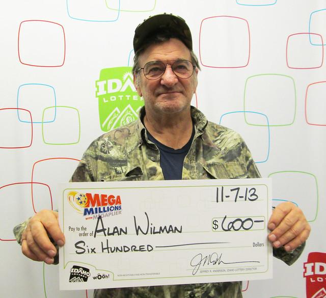 Alan Wilman - $600 Mega Millions