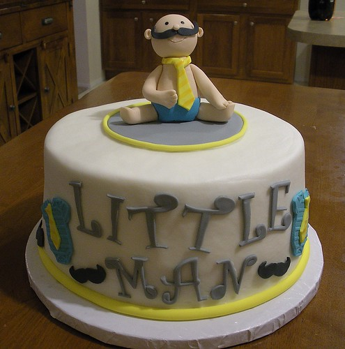 little man baby shower cake 10little man cake