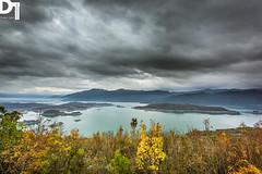 Slansko jezero (DULEfoto) Tags: autumn sky lake art nature weather canon photography europe skies photographer natural angry montenegro balkan crnagora jezero niksic duko slansko tasi dulefoto