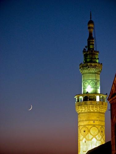 Moonlit Minaret