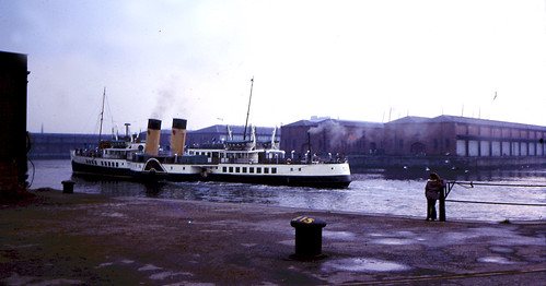 PS Waverley River Clyde 1970s